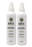 Kill It - Hand Sanitizer Moisturizing Spray (2-Pack) - by DermOrganic